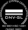 Management system certification ISO 9001 = ISO 14001, OHSAS 18001